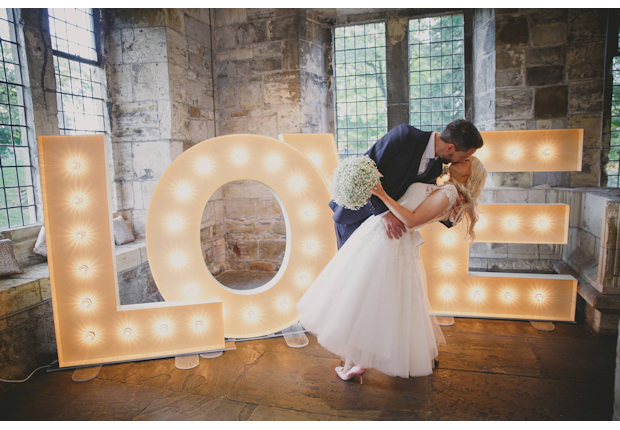 Partypics Photo Booth Hire Illuminated Letter And LED Dance Floor