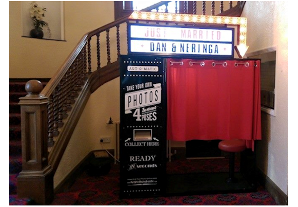 Vintage Photo Booth Hire North East Newcastle Durham